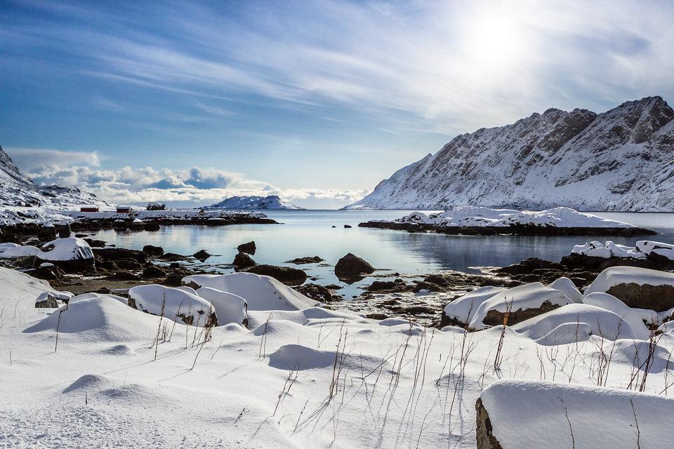 """Skjelfjorden, 68°2'40"""" N 13°15'22"""" E"""